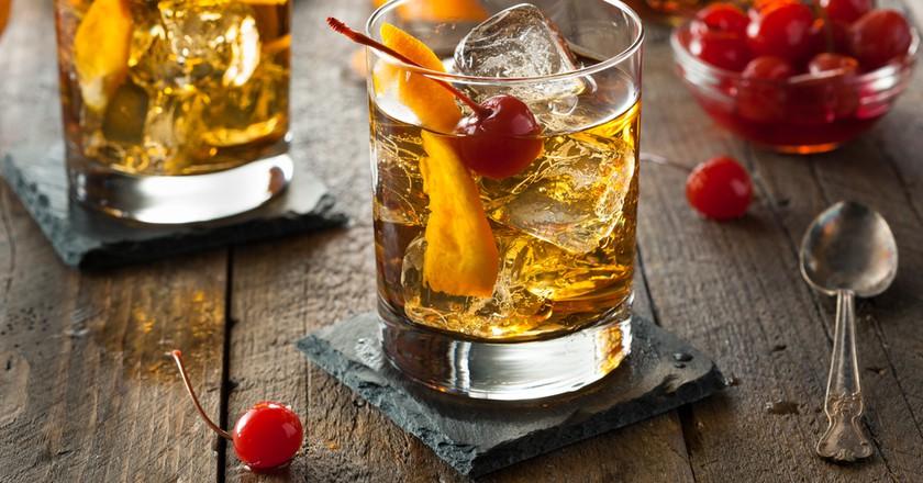 Homemade Old Fashioned Cocktail   © Brent Hofacker / Shutterstock