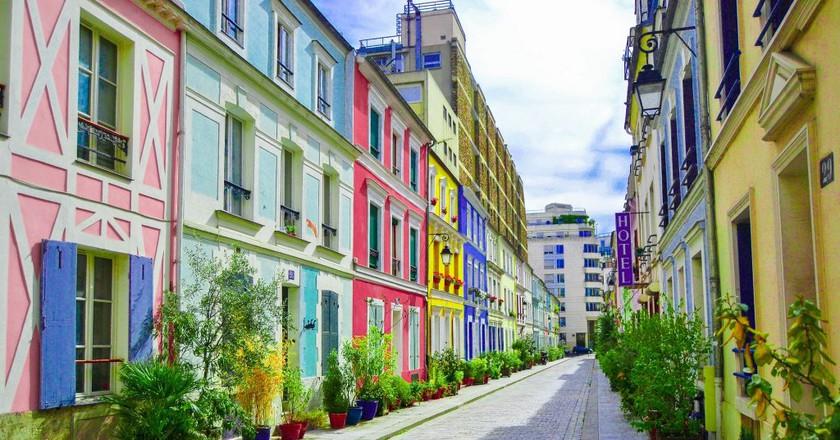 Colorful street in Paris │© lynn78 / Pixabay