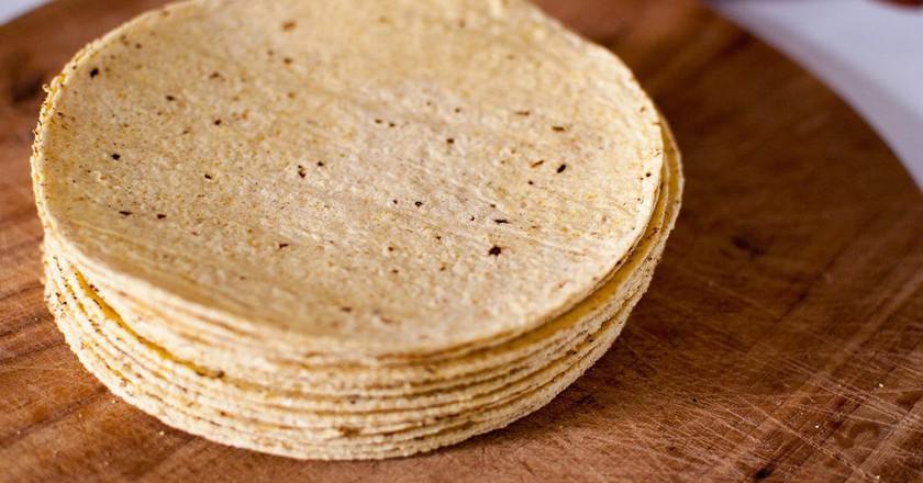 Homemade corn tortillas are the best! © Yasmina Haryono/Flickr
