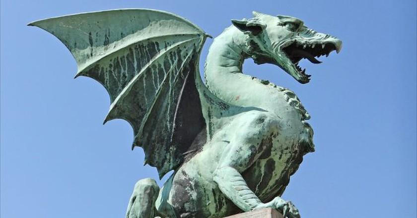 Ljubljana Dragon│© Jean-Pierre Dalbéra /Flickr