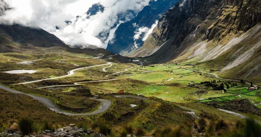 Bolivia's Death Road   © Matthew Straubmuller / Flickr