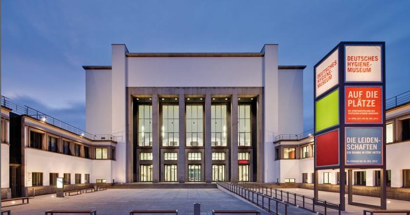 The German Hygiene Museum, Dresden | © David Brandt / Courtesy of dhmd.de