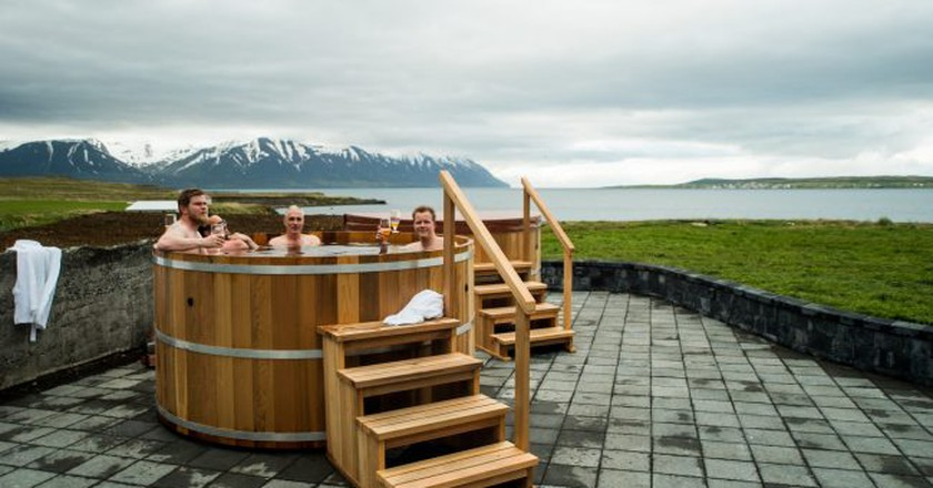   Courtesy of Bjórböðin - The Beer Spa