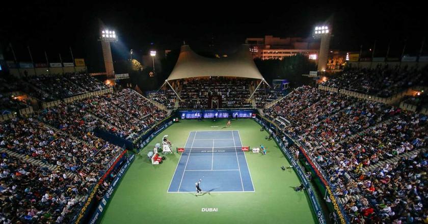 Dubai Tennis | © Courtesy of Dubai Duty Free Tennis Championships