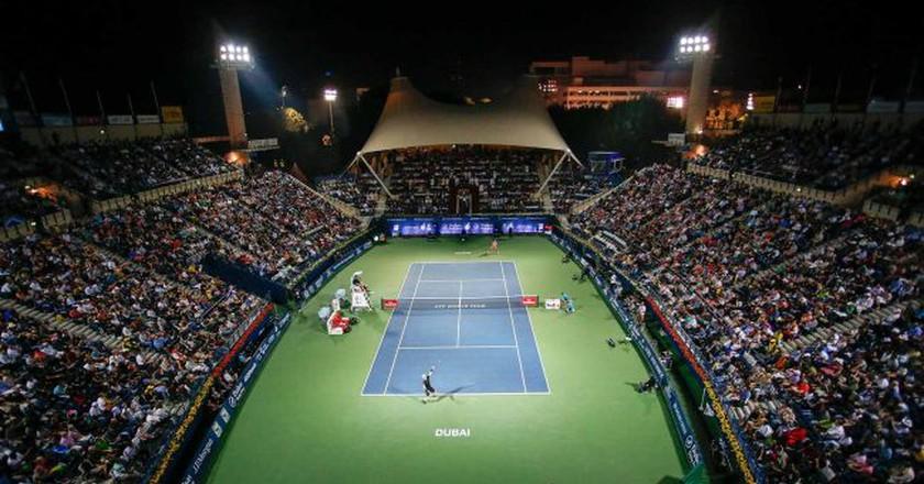 Dubai Tennis   © Courtesy of Dubai Duty Free Tennis Championships