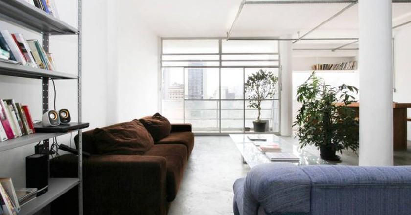 Stylish modernist loft   Courtesy of Vincent/Airbnb
