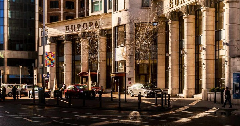 The Europa Hotel exterior   Courtesy of The Europa Hotel