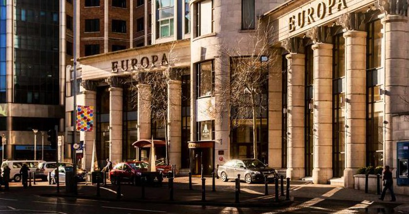 The Europa Hotel exterior | Courtesy of The Europa Hotel
