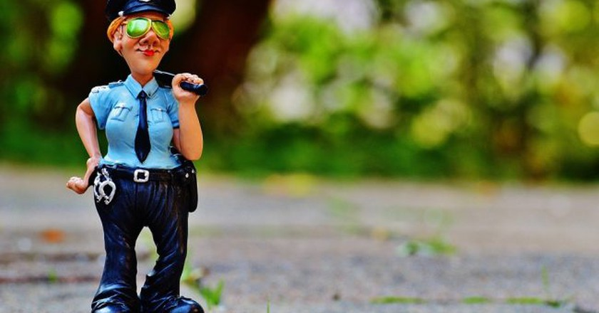 Fig Police Policewoman Funny | © Max Pixel