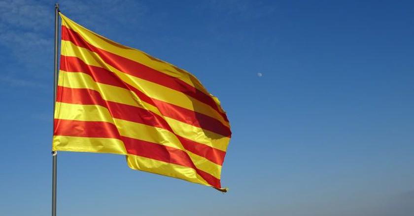 Catalan flag   © Marta_Photos / Pixabay