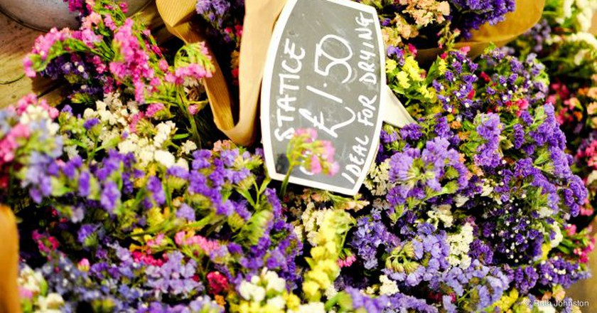 Flowers at Oxford's Covered Market | © Ruth Johnston/Flickr
