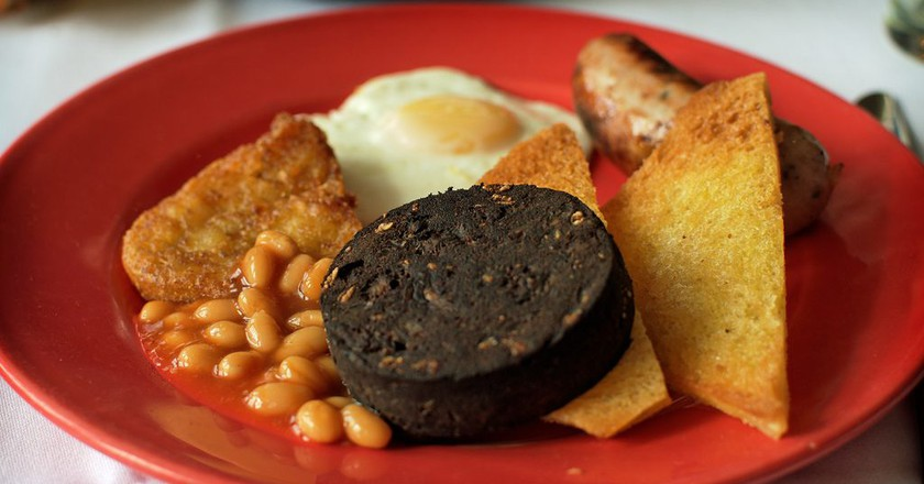 Fry-up with Black Pudding | © Alex Brown/Flickr