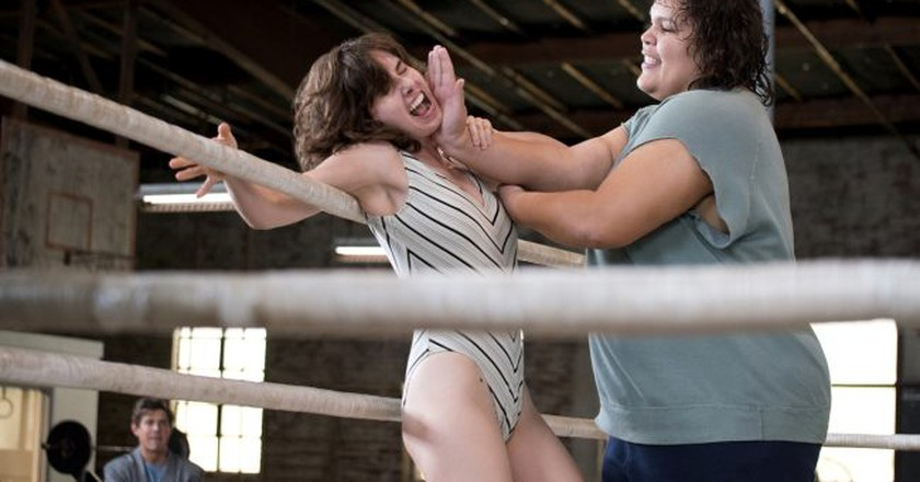 'GLOW' is based on the 1980s all-female wrestling promotion. | © Erica Parise/Netflix