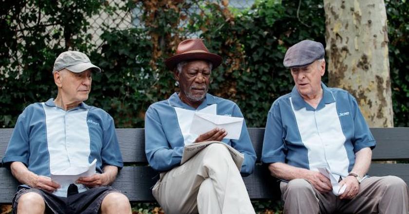 Morgan Freeman in 'Going in Style'   © Warner Bros.