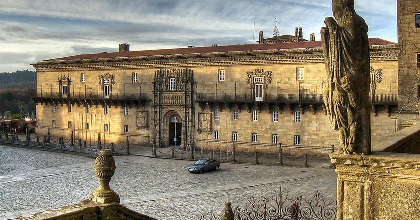 Hostal dos Reis Católicos, Santiago de Compostela   ©Angel Torres/Flickr