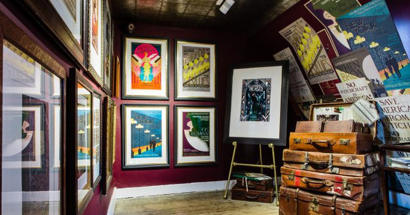 Fantastic Beasts and Where to Find Them floor at House of MinaLima |  | © MinaLima