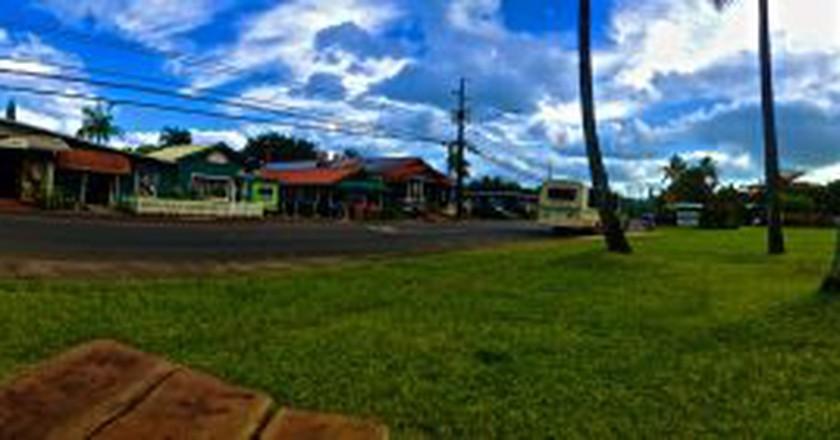 Hanalei town shops | © GE Keoni