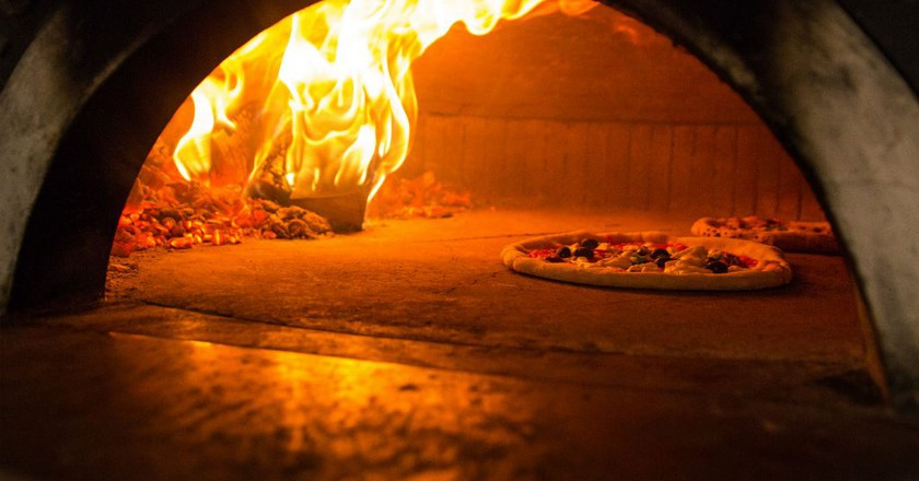 Pizza Cooking | Courtesy Of Paesano