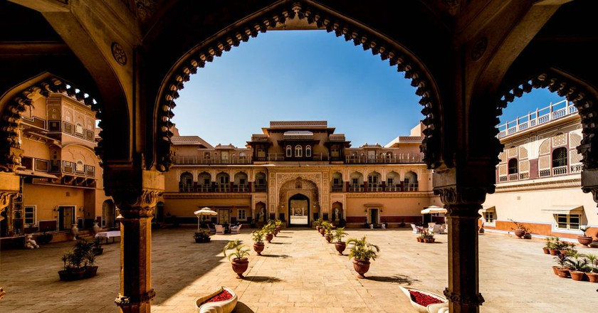 300 years old Chomu Palace in Rajasthan | © jpeter2 | pixabay