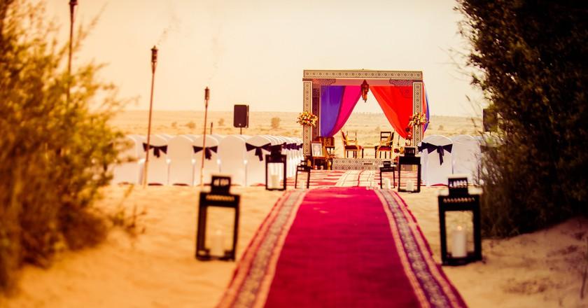 A wedding venue in the desert | © Arts Illustrated Studio / Shutterstock