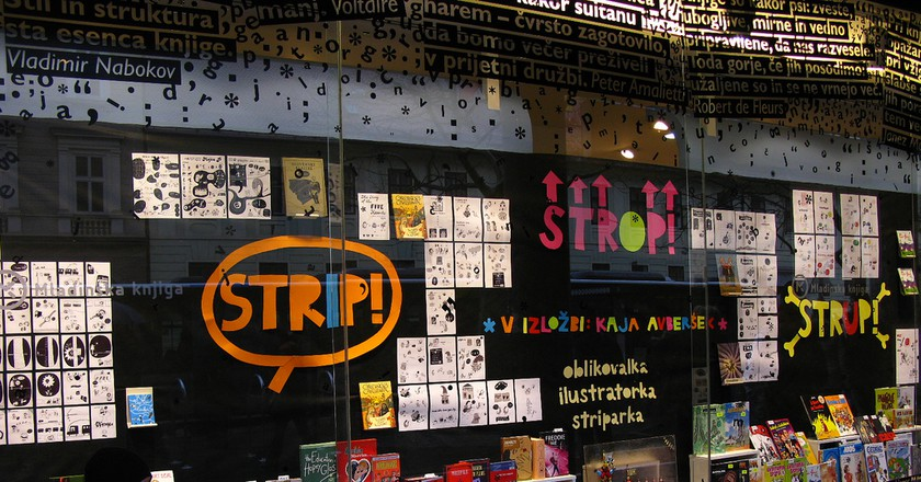 The Best Bookstores in Ljubljana