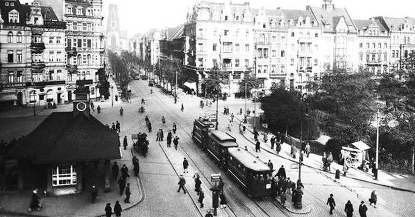 Ebertplatz, Cologne in 1910, via Wikimedia Commons