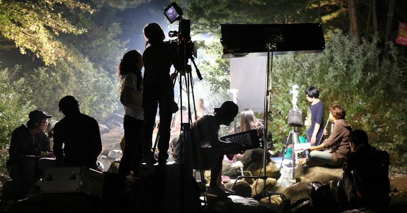 Lights, camera, action!   © Injeongwon / Wikimedia Commons