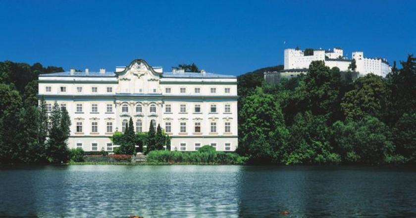 Leopoldskron Castle, Salzburg City | © Österreich Werbung / Weinhaeupl W.