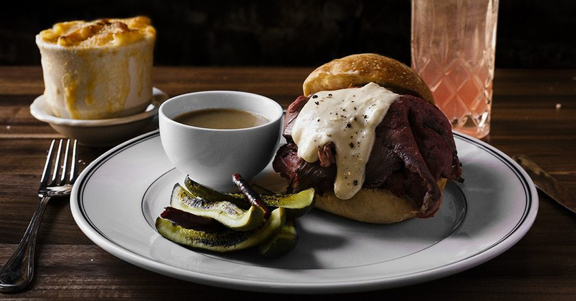 French Dip at Maison Pickle | Courtesy of Maison Pickle