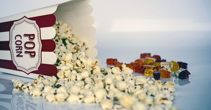 Movie screenings call for popcorn and candy   © Pixabay