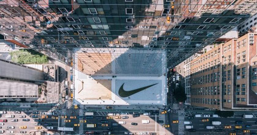 Nike HQ in New York City. Image courtesy of Nike, Inc. © Nike