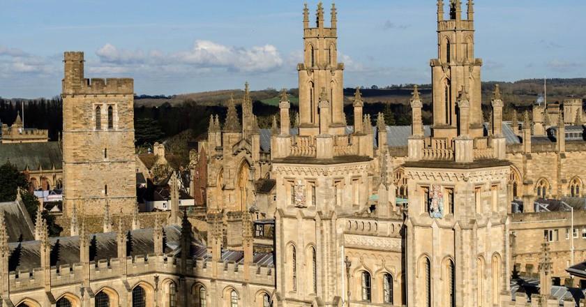 Oxford Spires   © Alison Day/Flickr