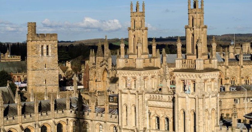 Oxford Spires | © Alison Day/Flickr