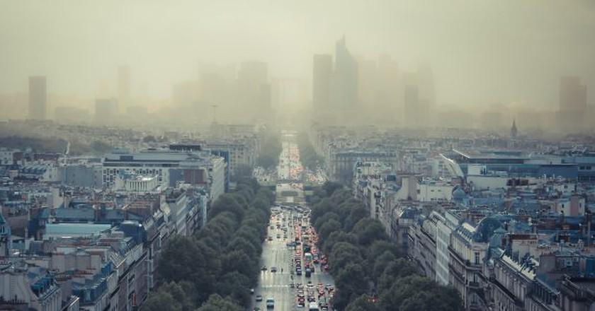 Paris pollution │© Damián Bakarcic / Flickr