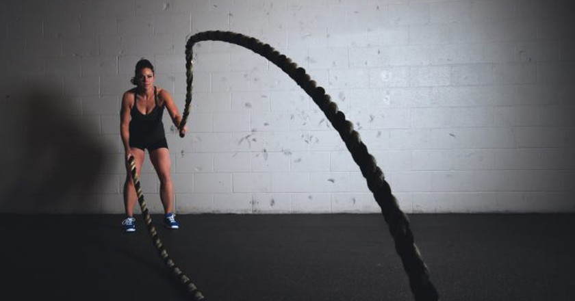 Fitness   © Scott Webb/Pexels