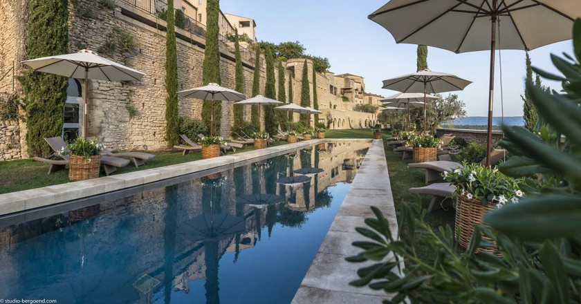 Provence has some simply amazing places to unwind and feel better   © La Bastide de Gordes