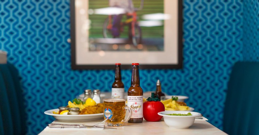 Poppie's Fish and Chips and Beer | ©  Poppie's/James Munson
