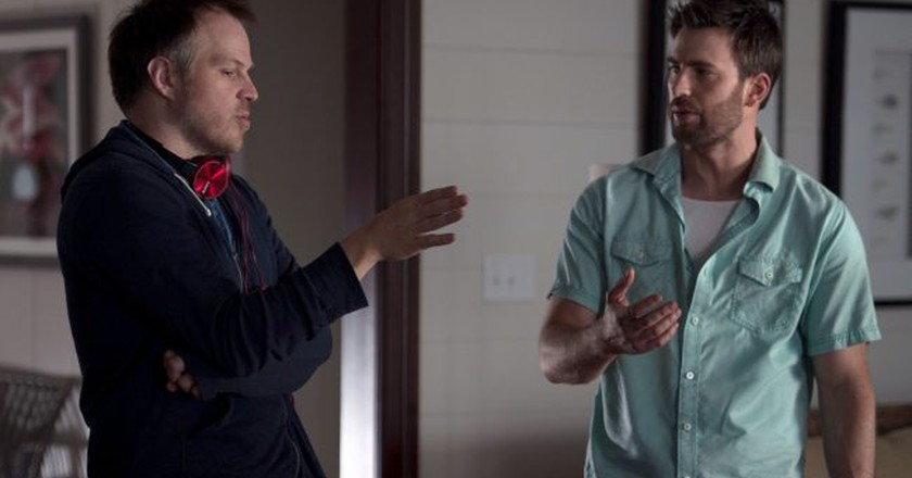 Marc Webb and Chris Evans in the film 'Gifted' | © Wilson Webb/2017 Twentieth Century Fox Film