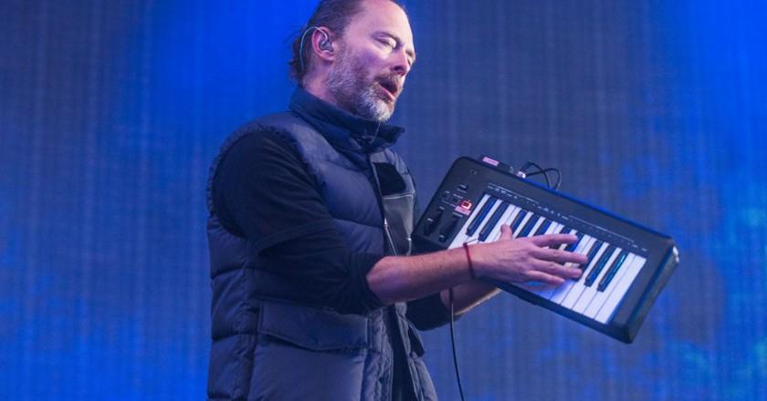 Thom Yorke of Radiohead © ddp USA/REX/Shutterstock