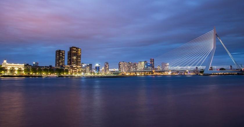 Rotterdam's skyline   © pixabay