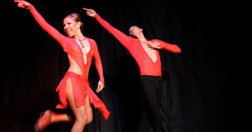Salsa dancers   © David and Paulina / Flickr
