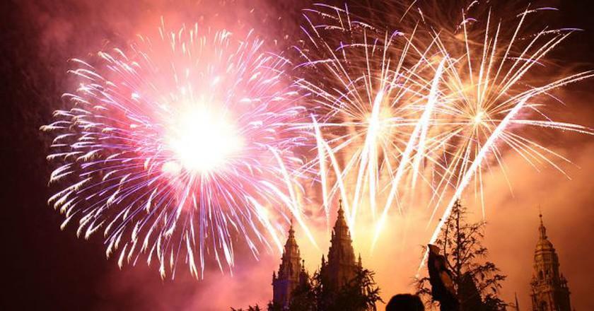 Fiesta de Santiago Apóstol, Galicia | ©Contando Estrelas / Wikimedia Commons