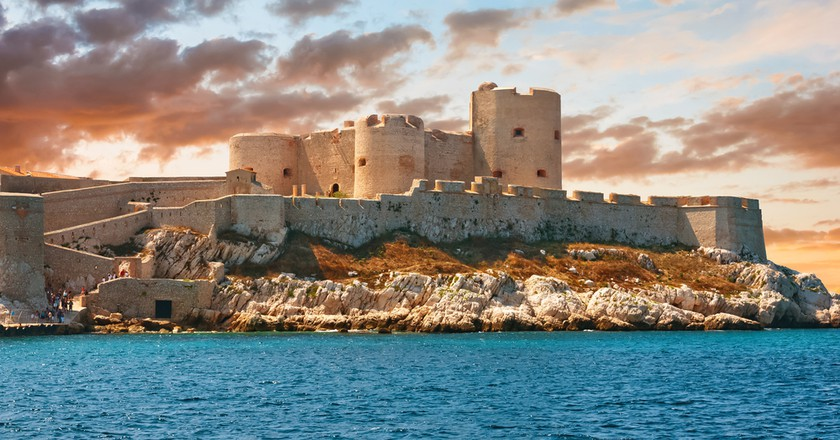The beautiful Château d'If is just one example of Marseille's many beautiful buildings | © Gurgen Bakhshetyan/Shutterstock