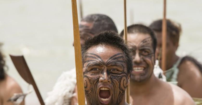 Maori Warrior | © Patricia Hofmeester/Shutterstock