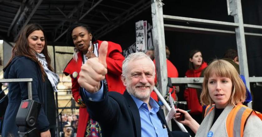 Jeremy Corbyn © 1000 Words/Shutterstock