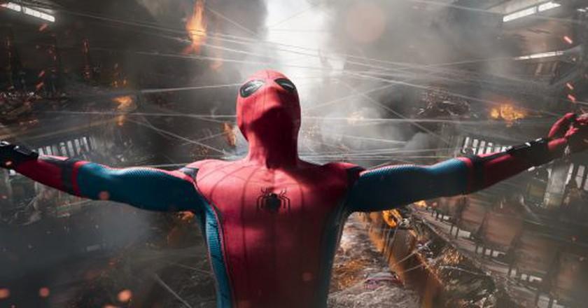 Tom Holland stars as Spider-Man in Columbia Pictures' 'Spider-Man: Homecoming'  © Sony Pictures/Columbia Pictures