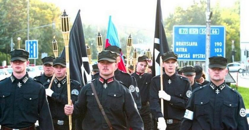 Marian Kotleba marches  | © Matúš Tremko/ Wikimedia