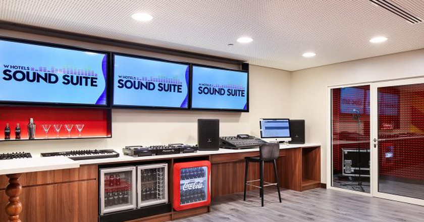 W Hotels Unveils Barcelona Sound Suite for Music Lovers