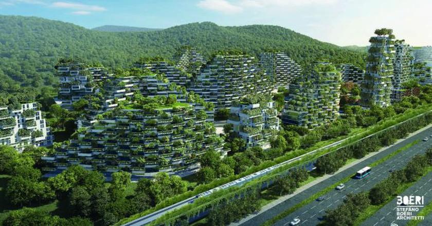 Luizhou Forest City   © Stefano Boeri Architetti