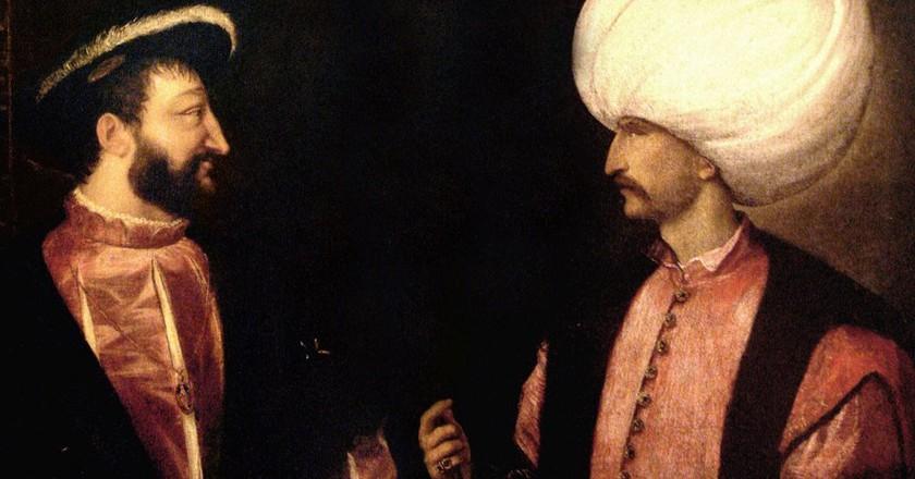 Francois I Suleiman | © Titian / Wikimedia Commons {{PD-1923}}
